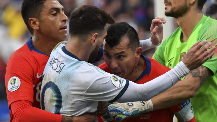 Los de La Roja hicieron enojar a Lionel.
