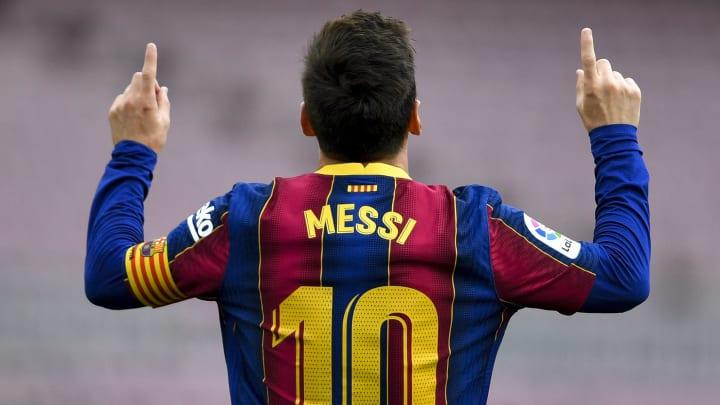 Lionel Messi rewrote the history books at Barcelona