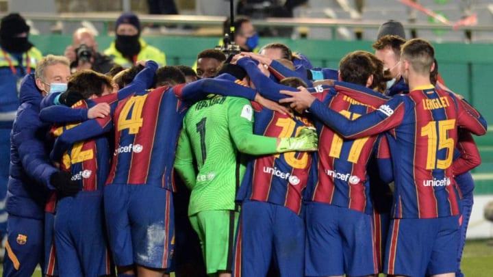El FC Barcelona se llevó la semifinal en la tanda de penaltis