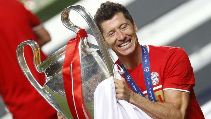 Lewandowski will mit den Bayern den nächsten Titel