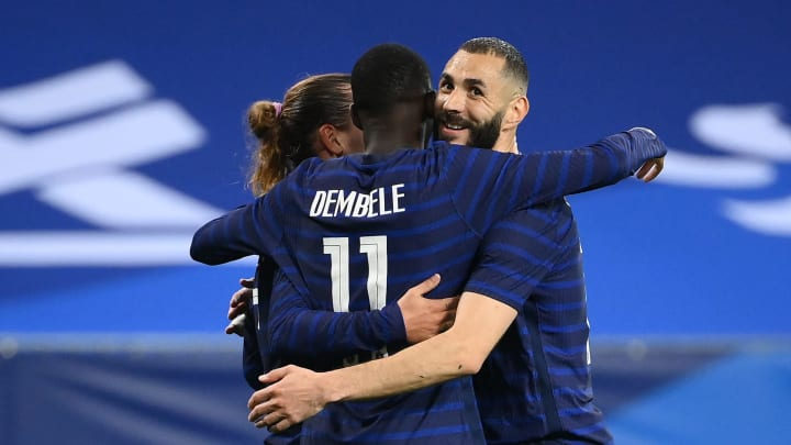 Karim Benzema is finally back in the French national team