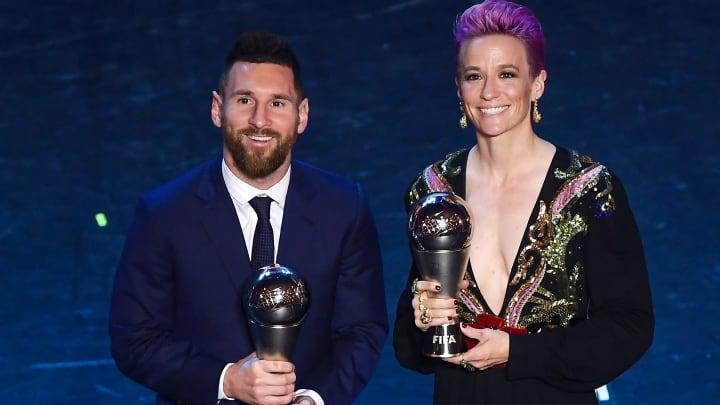 Le conseil de Megan Rapinoe à Cristiano Ronaldo et Lionel Messi