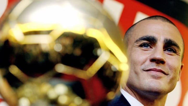 Ballon d'Or Fabio Cannavaro Itália Bola de Ouro Thierry Henry