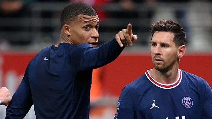 Kylian Mbappé et Lionel Messi.