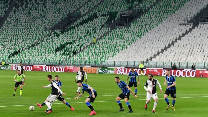 The lack of crowd made for a weird experience in watching the latest Derby D'Italia in March