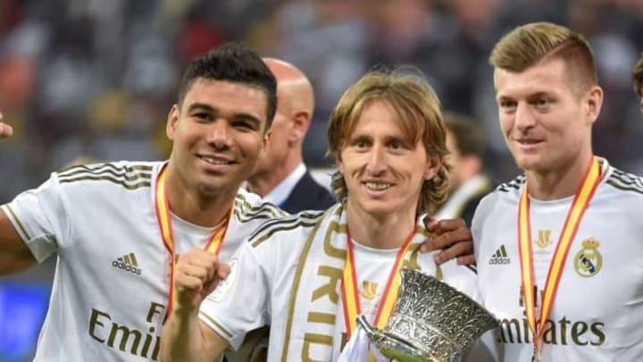 Casemiro luka modric toni kroos Real Madrid
