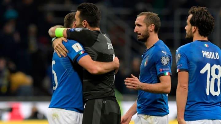 Buffon Itália Suécia Copa do Mundo de 2018 Zebra