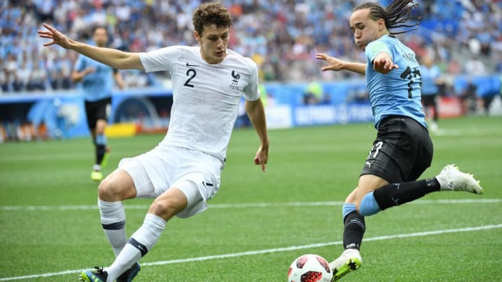 Pavard was a key part of France's World Cup triumph in 2018