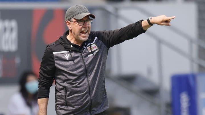 Urs Fischer hofft auch im zweiten Bundesliga-Jahr auf eine schlagkräftige Truppe