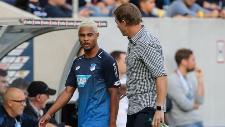 Julian Nagelsmann was a huge factor in Gnabry's exponential growth