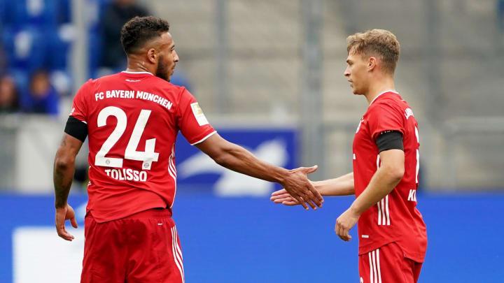Tolisso veste a camisa 24 do Bayern de Munique