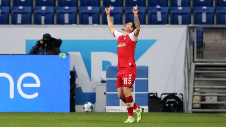Erstmals traf Santamaria in der Bundesliga