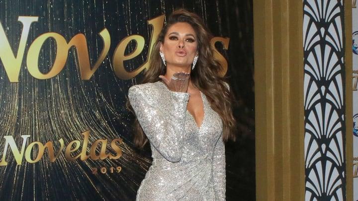 """Galilea Montijo en los premios """"Tv y Novelas"""" 2019"""