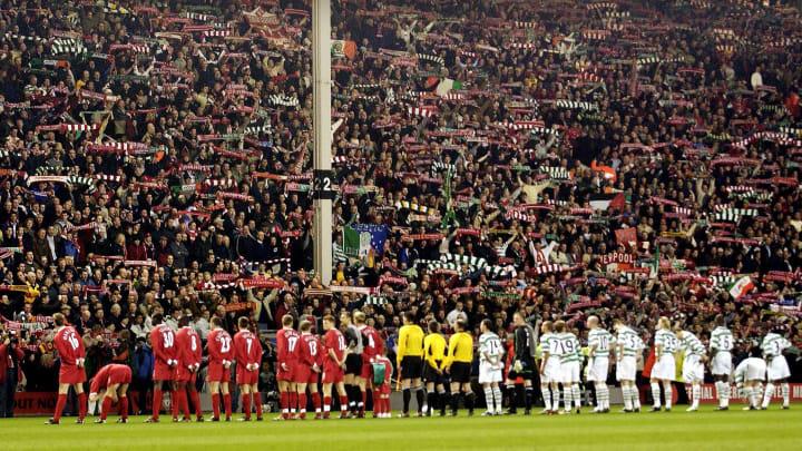 Grêmio e Nacional; Liverpool e Celtic; e mais. Veja torcidas que são amigas.