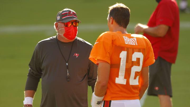 Bruce Arians and Tom Brady