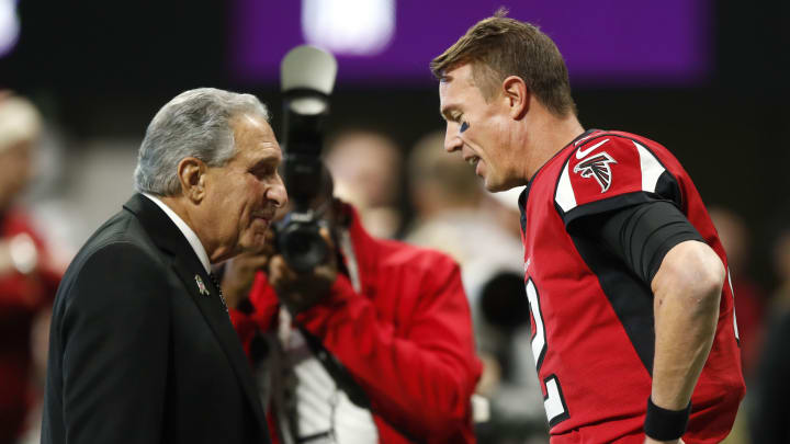 Arthur Blank, Whose Falcons Have the Fourth Pick, is 'Fascinated' by Quarterback Draft Class