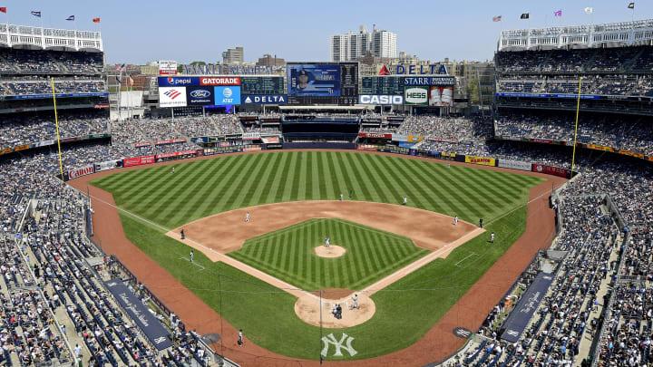 Yankee Stadium, home of the New York Yankees