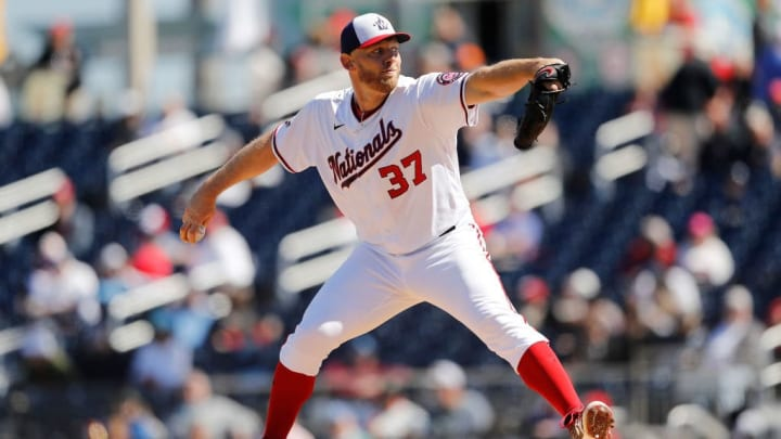 Stephen Strasburg just signed a massive deal with the Nationals this winter.