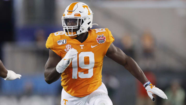 Tennessee football players in the 2020 NFL Draft include Darrell Taylor, Jauan Jennings and Marquez Callaway.
