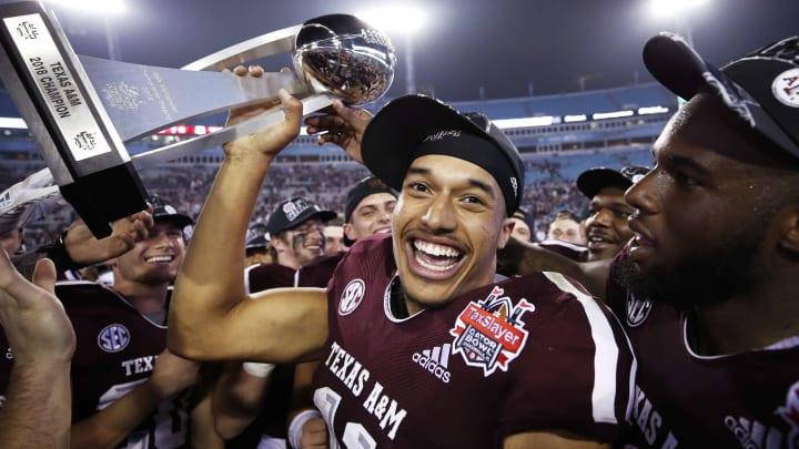 Texas A&M quarterback Kellen Mond.