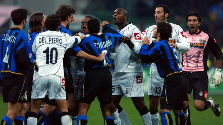 Tempers flare during the Serie A