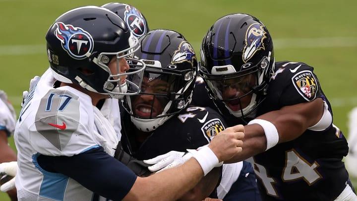 Titans y Ravens chocarán en uno de los juegos por el comodín en la AFC