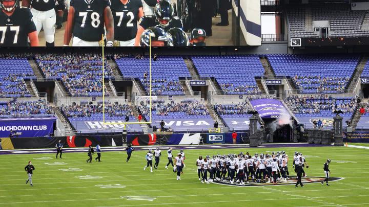 Tennessee Titans v Baltimore Ravens