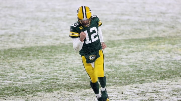 Aaron Rodgers, Tennessee Titans v Green Bay Packers