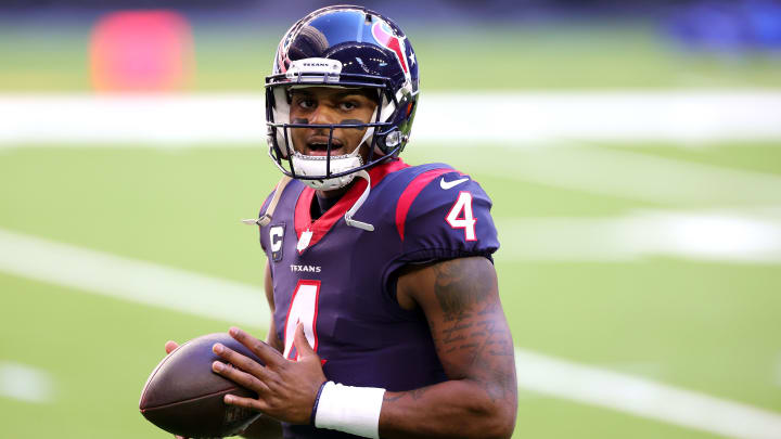 The potential asking price of the Houston Texans in a trade for Deshaun Watson has been revealed.