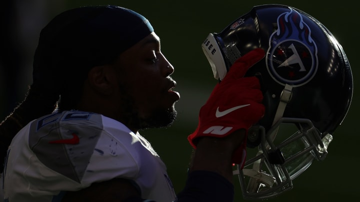 Madden 22 has had some wide speculation on who will be the star on this year's cover, and leaks have suggested Derrick Henry may be the one featured.