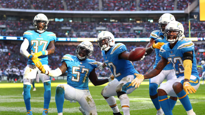 Three players who likely won't be on the Los Angeles Chargers roster in 2021.