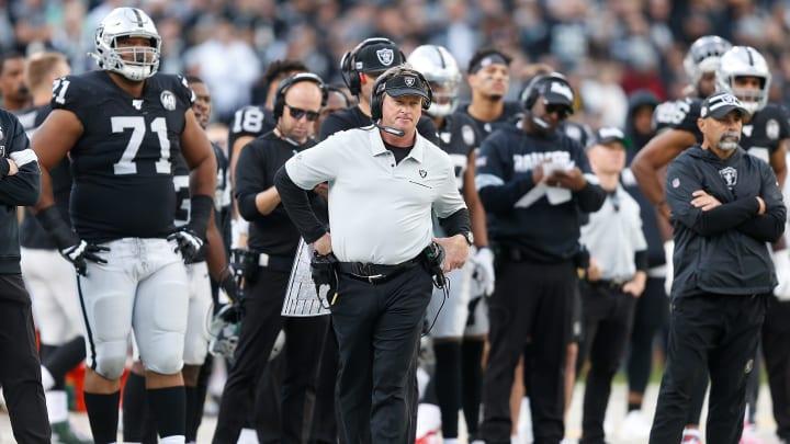 Las Vegas Raiders coach Jon Gruden