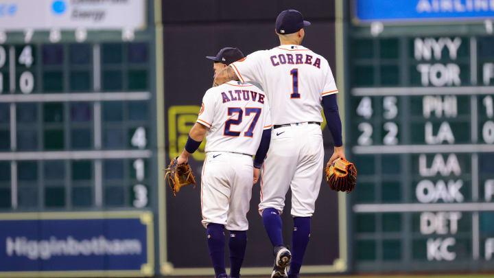 Jose Altuve and Carlos Correa