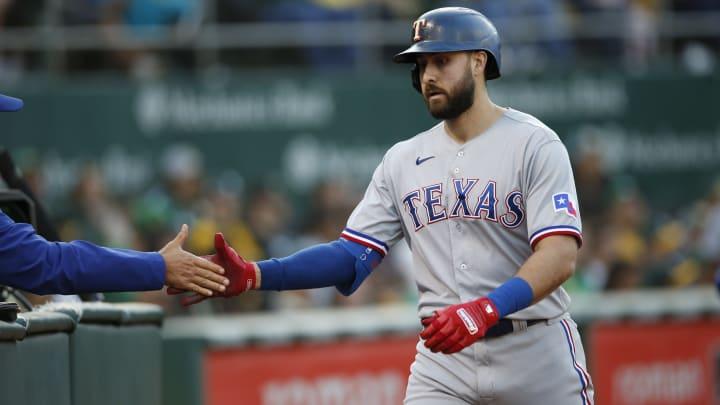Joey Gallo conectó 25 jonrones en 2021 con los Rangers de Texas