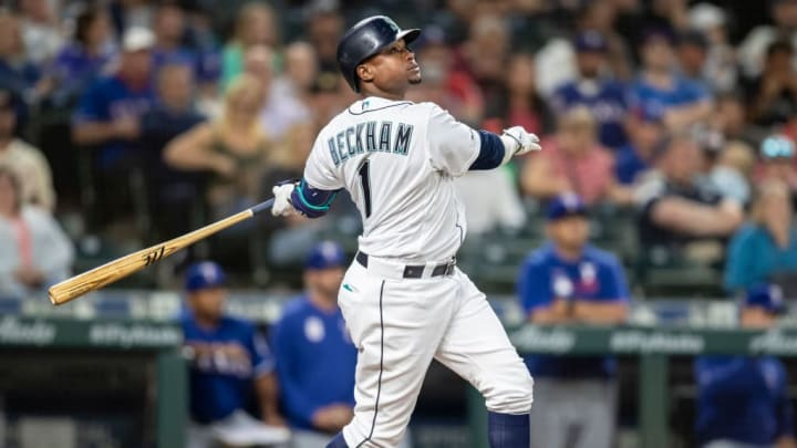 Tim Beckham was a member of the Seattle Mariners in 2019.