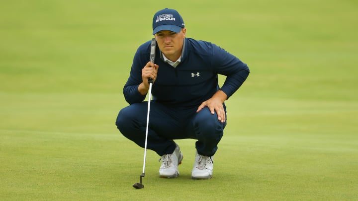 Jordan Spieth odds to win the British Open surge with a terrific Round 1.