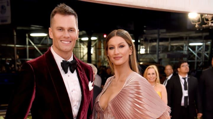 NEW YORK, NEW YORK - MAY 06: Tom Brady and Gisele Bündchen attend The 2019 Met Gala Celebrating Camp: Notes on Fashion at Metropolitan Museum of Art on May 06, 2019 in New York City. (Photo by Jamie McCarthy/Getty Images)