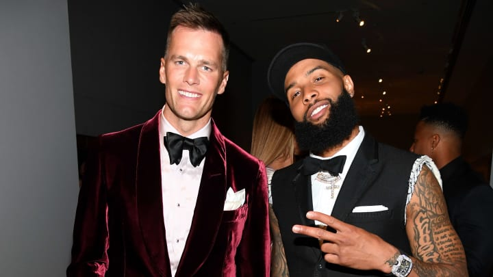 Tom Brady and Odell Beckham Jr. at the 2019 Met Gala