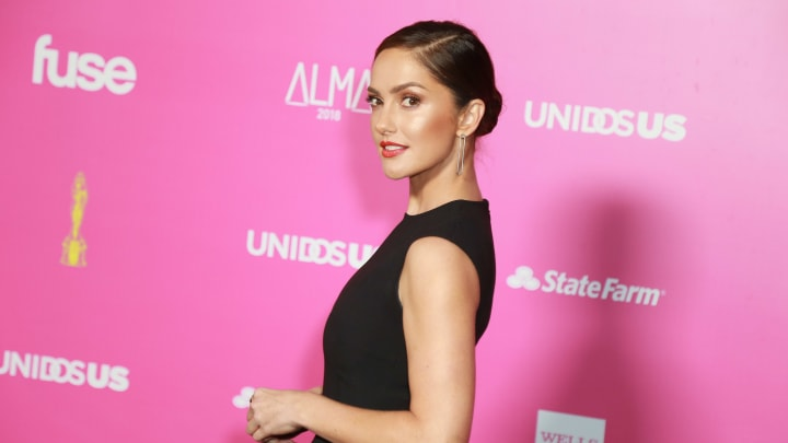 Minka Kelly at The ALMAs 2018 - Press Room