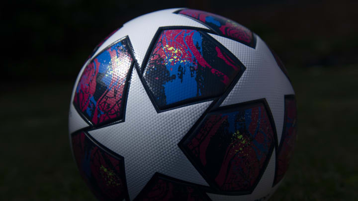 The Adidas Champions League Match Ball