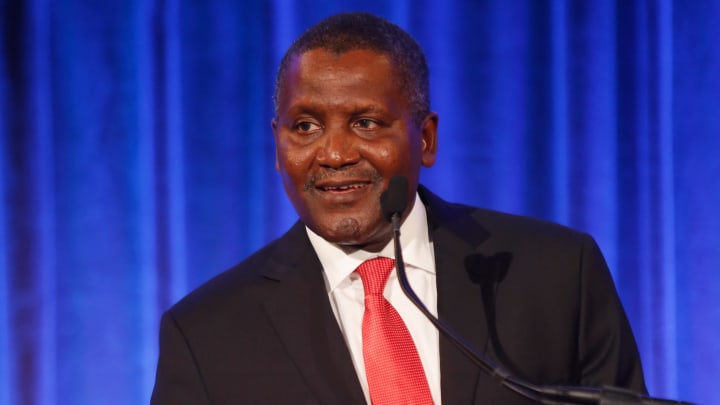 Nigerian billionaire Aliko Dangote is Africa's richest man
