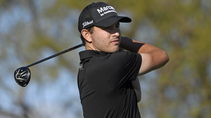Patrick Cantlay at The American Express - Final Round.