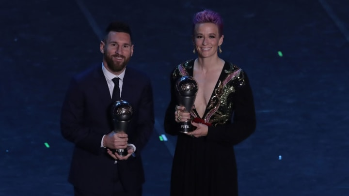 Rapinoe has encouraged Messi and Ronaldo to be more vocal when it comes to racism