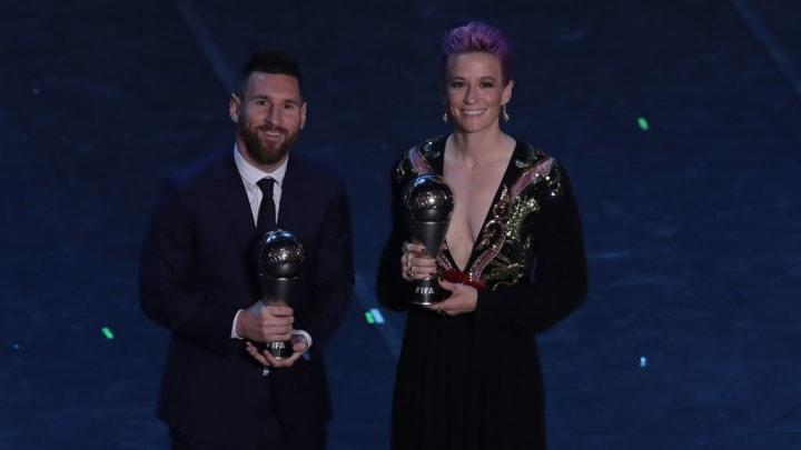 Lionel Messi, Megan Rapinoe