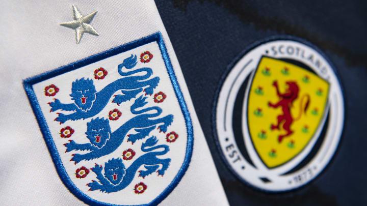 The England and Scotland International Badges