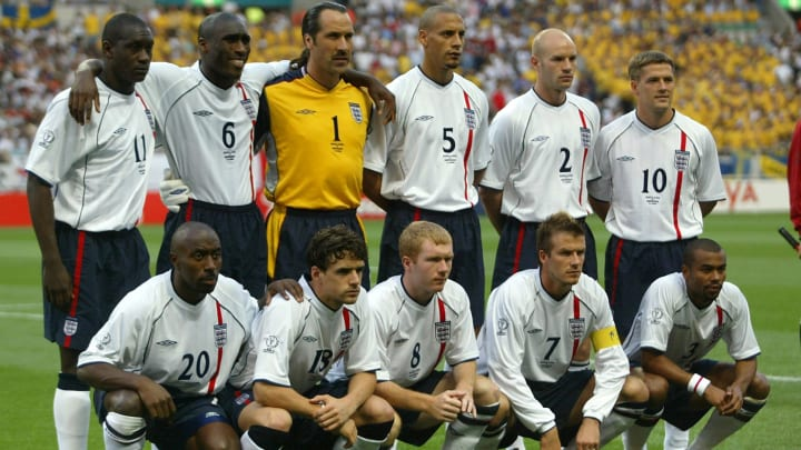 England at the 2002 World Cup.