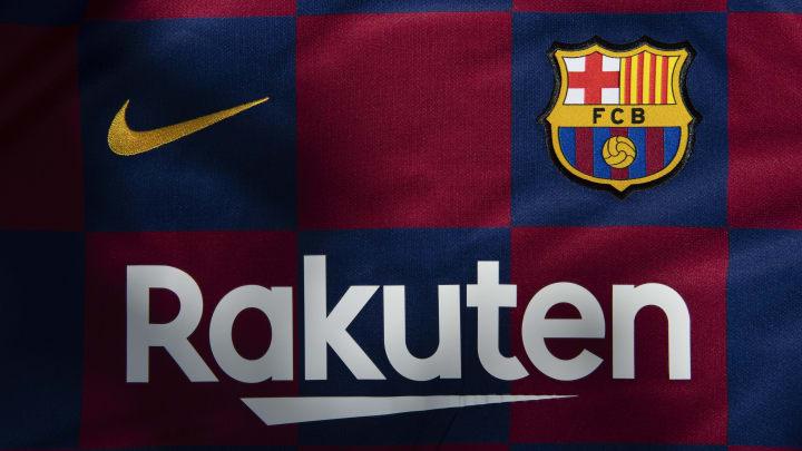 La maglia del Barcellona (targata Nike)