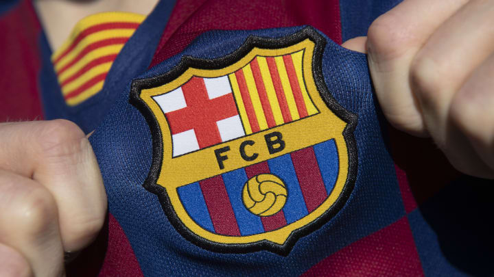 Le badge du FC Barcelone.