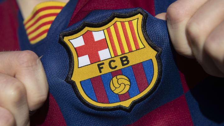 Das Wappen des FC Barcelona