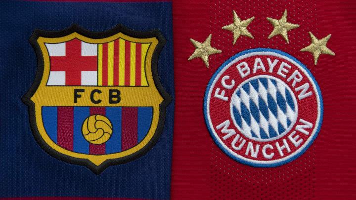 Barcelona will face off against Bayern Munich
